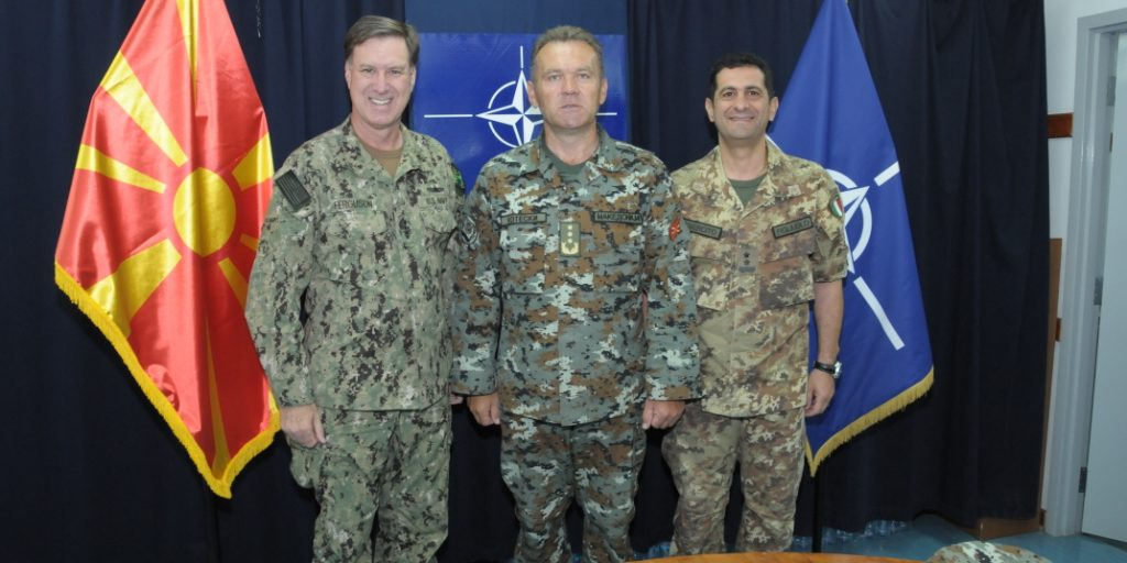 Chief of General Staff of ARM visits KFOR – ARMY OF THE