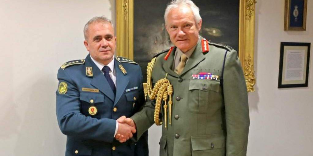 Working visit of the Chief of Staff to the Armed Forces of